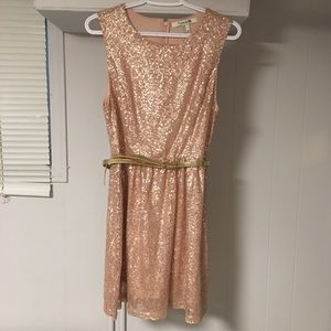 FOREVER21 Women's Sequin Dress
